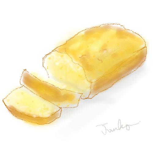 ポレンタのパン